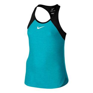 Nike Girls Slam Tank - Omega Blue