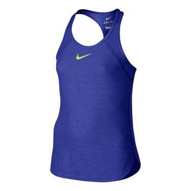 Nike Girls Slam Tank - Paramount Blue
