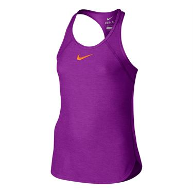 Nike Girls Slam Tank - Vivid Purple