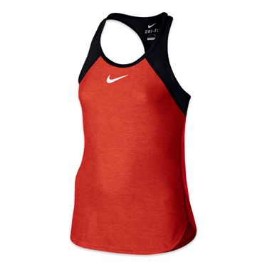 Nike Girls Slam Tank - Lite Crimson