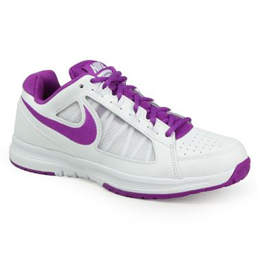 Nike Air Vapor Ace Womens Tennis Shoe - White/Vivid Purple
