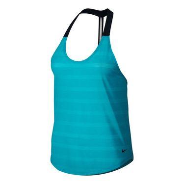 Nike Elastika Elevate Tank - Omega Blue