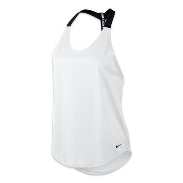 Nike Elastika Solid Tank - White