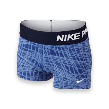 Nike Girls Pro Cool Short - Chalk Blue/Obsidian