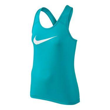 Nike Girls Pro Cool Tank-Omega Blue