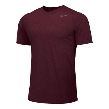 Nike Team Legend Crew - Dark Maroon/Grey