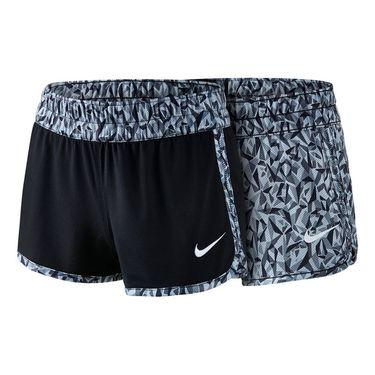 Nike Girls Gym Reversible Short-Black