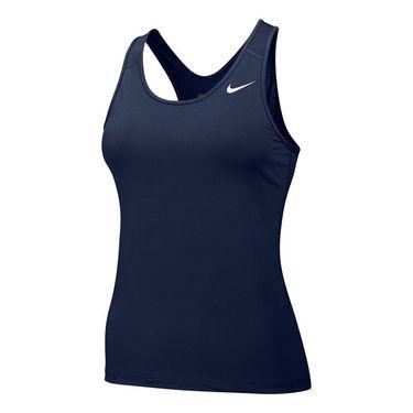 Nike Team Pro Cool Tank - Navy Blue