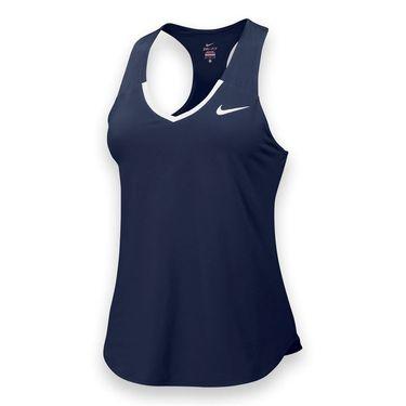 Nike Team Pure Tank - Navy/White
