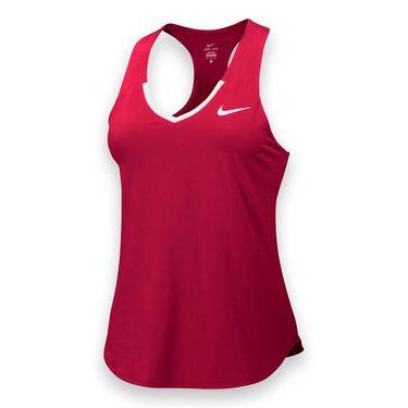 Nike Team Pure Tank - Scarlet/White