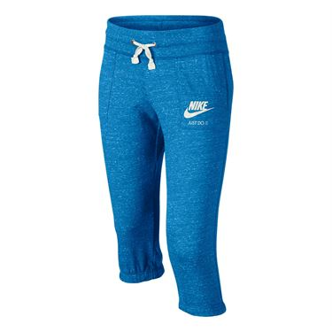 Nike Girls Sportswear Gym Vintage Capri - Light Photo Blue