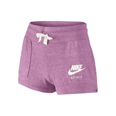 Nike Girls Gym Vintage Short - Orchid/Sail