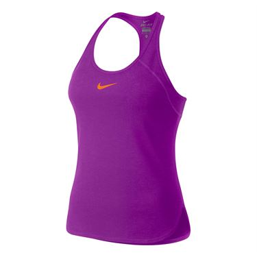 Nike Dry Slam Tank - Vivid Purple
