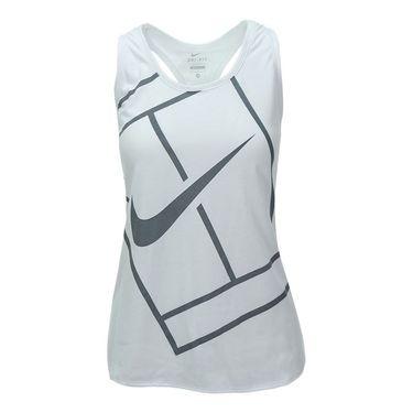 Nike Baseline Tank - White