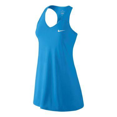 Nike Pure Tennis Dress - Lite Photo Blue