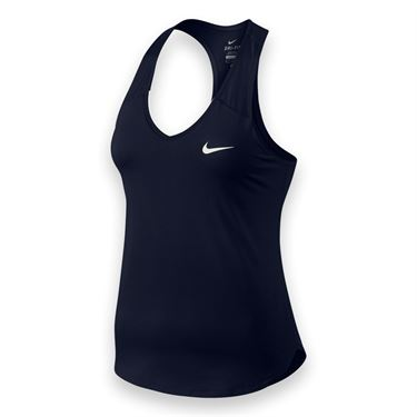 Nike Team Pure Tank - Obsidian