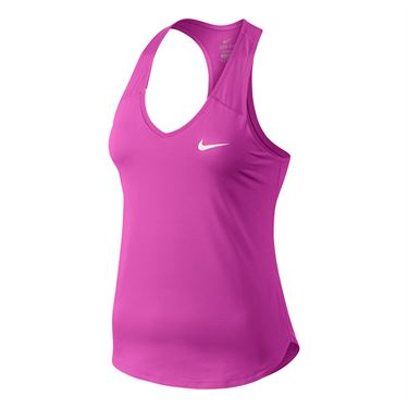 Nike Pure Tank - Fire Pink/White