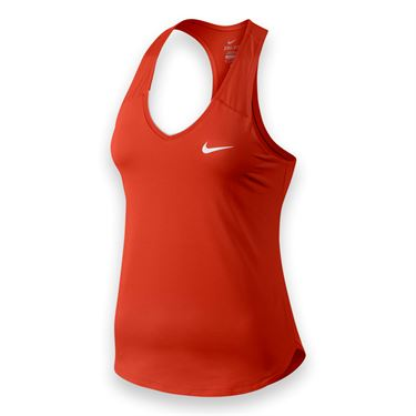 Nike Team Pure Tank - Lite Crimson