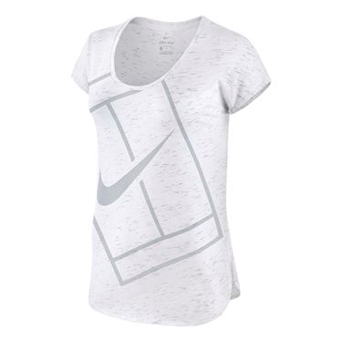 Nike Baseline Top - White/Stealth