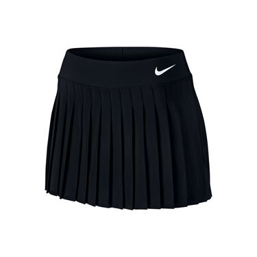 Nike Victory 13 Inch Skirt LONG - White/Black