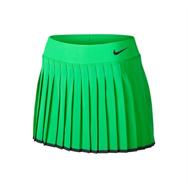 Nike Victory 13 Inch Skirt LONG - Electro Green