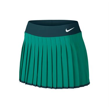 Nike Victory 13 Inch Skirt LONG - Teal Charge/Midnight Turquoise