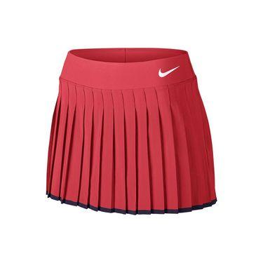 Nike Victory 13 Inch Skirt LONG - Ember Glow/Purple Dynasty