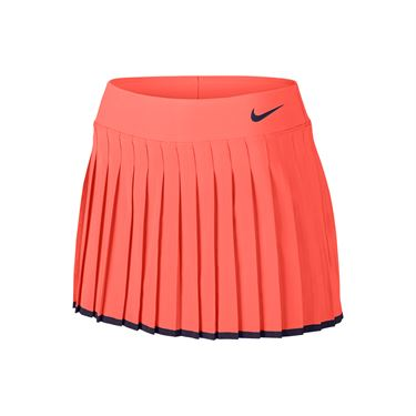 Nike Victory 13 Inch Skirt LONG - Bright Mango