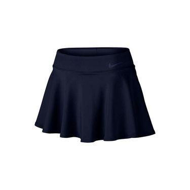 Nike Baseline Skirt LONG - Obsidian