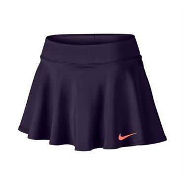 Nike Baseline 12 Inch Skirt REGULAR - Purple Dynasty/Bright Mango