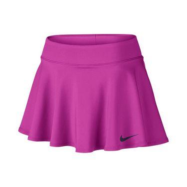 Nike Baseline 12 Inch Skirt REGULAR - Fire Pink/Purple Dynasty