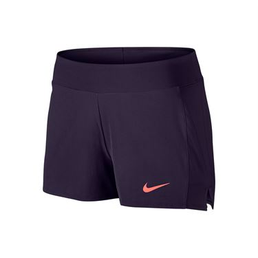 Nike Baseline Short - Purple Dynasty/Bright Mango