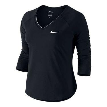 Nike Pure 3/4 Sleeve Top - Black