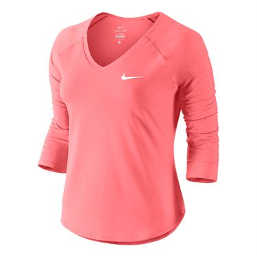 Nike Court Pure Top - Lava Glow