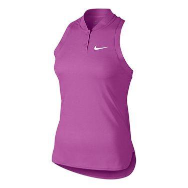 Nike Premier Advantage Sleeveless Polo - Viola