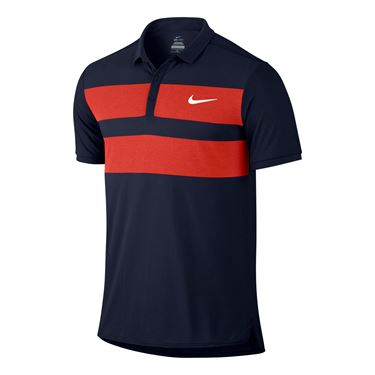 Nike Advantage Dri Fit Cool Polo - Obsidian