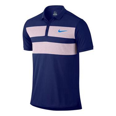 Nike Advantage Dri Fit Cool Polo - Deep Royal Blue