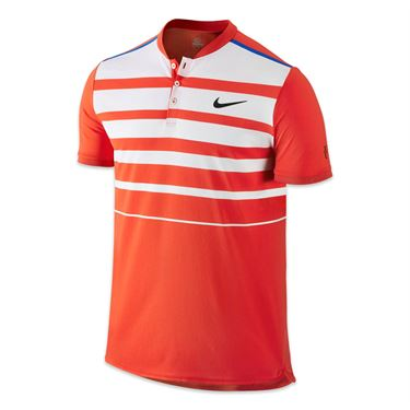 Nike Premier Roger Federer Polo - Lite Crimson/Black