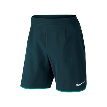 Nike Court Flex Short - Midnight Turquoise/Rio Teal