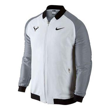 Nike Premier Rafael Nadal Jacket - White/Stealth/Black
