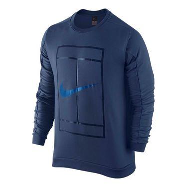 Nike Court Tennis Crew - Coastal Blue/Photo Blue