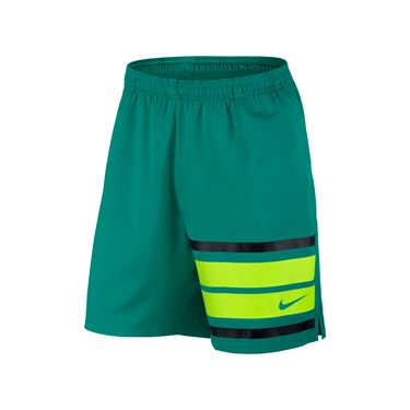 Nike Court Graphic 9 Inch Short - Rio Teal/Black