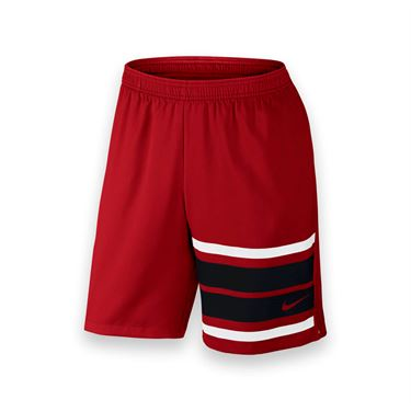 Nike Court Graphic 9 Inch Short - University Red