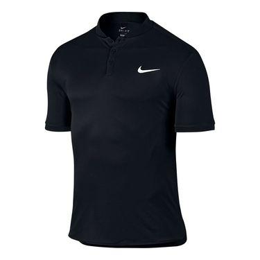 Nike Court Advantage Tennis Polo - Black