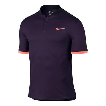 Nike Court Advantage Tennis Polo - Purple Dynasty/Black/Bright Mango