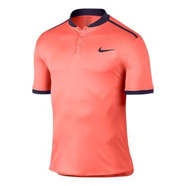 Nike Court Advantage Tennis Polo - Bright Mango/Purple Dynasty