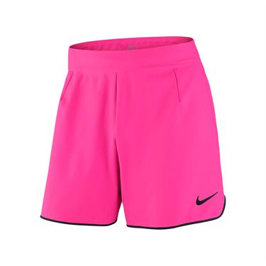 Nike Court Flex Tennis Short - Hyper Pink/Black