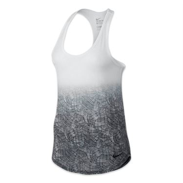 Nike Dri-Blend Art Tank - White/Black