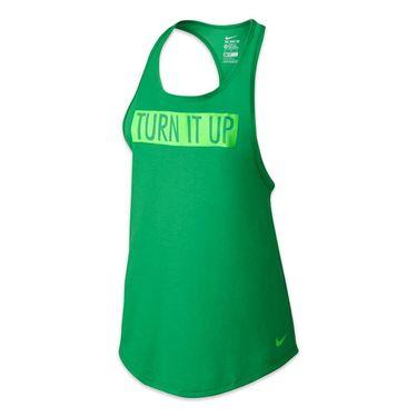 Nike Dri-Blend Club Tank - Spring Leaf/Voltage Green