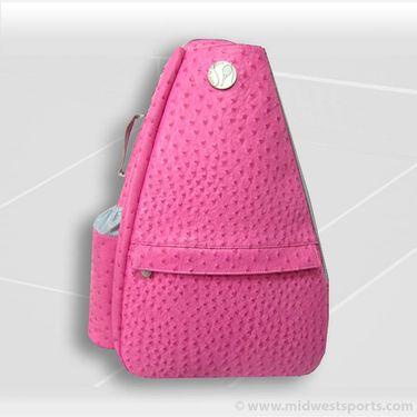 Jet Pac Ostrich Bold Pink Classic Convertible Sling Tennis Bag